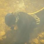 Full kit for under water gold mining